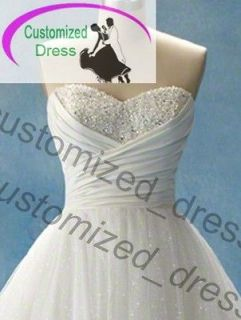 New White Wedding dresses Bridal Gown Quinceanera ball Party prom