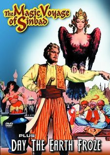 The Magic Voyage of Sinbad Day the Earth Froze DVD, 2005
