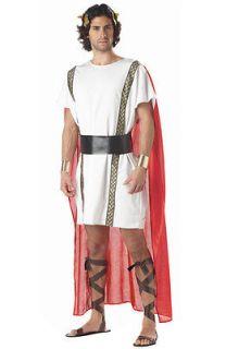 Brand New Mark Anthony Adult Toga Roman Greek Halloween Costume