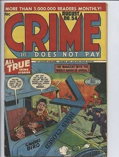 Does Not Pay run Golden Age CDNP #54 Charles Biro Lev Gleason R Rated
