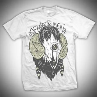 Of Mice And Men Ram Skull Officially Licensed Adult Shirt S 2XL