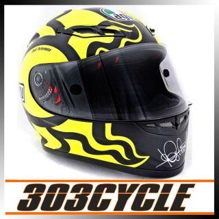 AGV Valentino Rossi 46 GP Tech Winter Test Full Face Motorcycle Helmet