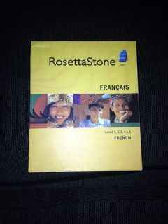 newly listed full new set rosetta stone french level 1 to 5