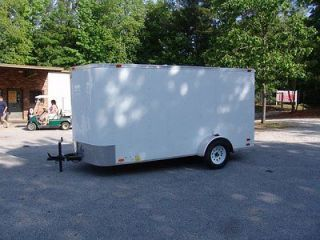 6x12 forrest river enclosed cargo trailer  2495