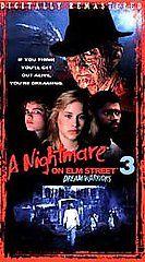 Nightmare on Elm Street 3   Dream Warriors VHS, 1999