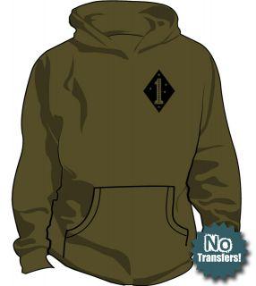 1st marine div usmc bn us recon infidel military hoodie