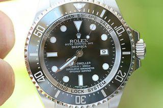 ROLEX MENS 116660 SEA DWELLER DEEP SEA STAINLESS STEEL Yr 2012 BOX
