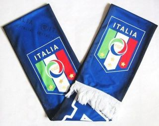 Newly listed 2012 ITALY soccer fans neck soft winter scarf muffler