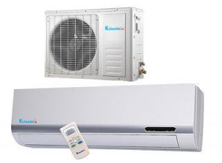 Btu Klimaire 13 SEER Ductless Mini split Heat Pump Air conditioner