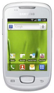 Samsung GALAXY Mini GT S5570   Chic white Unlocked Smartphone