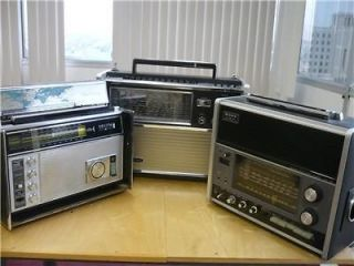 ZENITH/SONY/PA​NASONIC ; SHORT WAVE RADIO REPAIR ESTIMATE