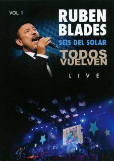 Ruben Blades Seis del Solar Todos Vuelven Live, Vol. 1 DVD, 2011
