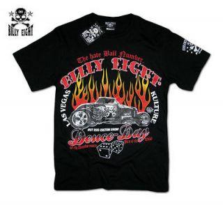 Billy Eight★Deuce Day★Rockabilly T Shirt Psychobilly Tee Shirt
