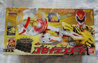 Power Rangers Megaforce 2013 Sentai Tensou Goseiger tensword scepter