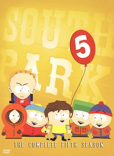 South Park   The Complete Fifth Season DVD, 2005, 3 Disc Set