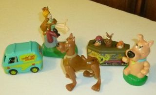 lot of 5 fastfood Toys Burger King w/ Scrappy wind up & mystery van