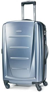 Samsonite Winfield 2 24 Spinner 4 Wheeled Luggage Blue Slate 48183
