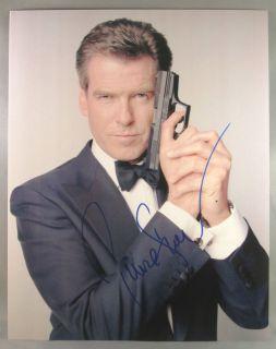 Pierce Brosnan autograph in Entertainment Memorabilia