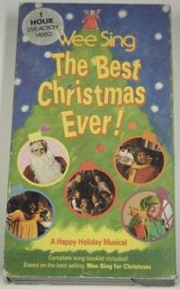 wee sing the best christmas ever vhs rdee vic mcgraw ronee walker - Wee Sing The Best Christmas Ever