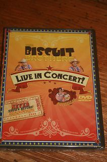 the biscuit brothers live in concert new dvd children s