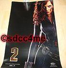 Movie Poster Avengers Black Widow Scarlett Johansson 12 x 8