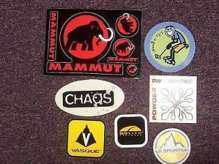 11 stickers 11b mammut golite life is good vasque time