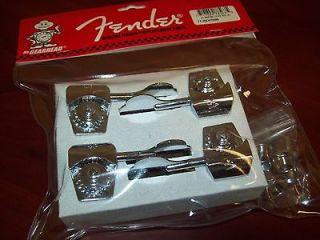 NEW Genuine Fender/Schaller American Series Bass Tuner Set