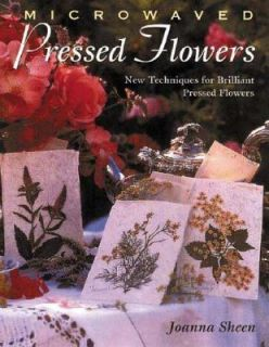 for Brilliant Pressed Flowers by Joanna Sheen 1999, Paperback