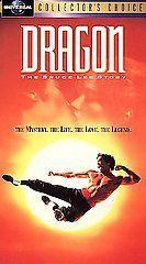 The Bruce Lee Story (VHS, 1993) JASON SCOTT LEE, LAUREN HOLLY, VGC