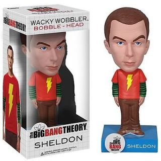 Exclusive Big Bang Theory Sheldon Cooper Bobble Head with Shazam