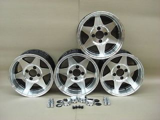 13x7 DEEP DISH MINI STARMAG WHEELS JBW WHEELS CAR SET 4, 7x13