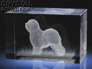 old english sheepdog 3d laser etched crystal dog 49s from ukraine time