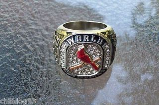 St. Louis Cardinals 2011 Replica World Series Ring Not SGA NICE $1