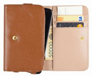 Leather smart cell phone wallet style case / For Samsung Galaxy Note