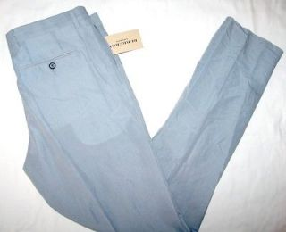 nwt burberry london mens salton pants unhemmed $ 295 more