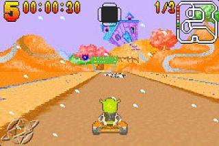 Shrek Swamp Kart Speedway Nintendo Game Boy Advance, 2002