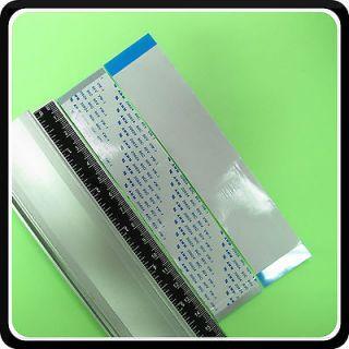 60pin FFC FPC flat flex ribbon cable L150mm 0.5mm pitch AWM 20624 80C
