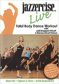 Newly listed JAZZERCISE LIVE DANCE EXERICISE DVD   NEW (Judi Sheppard