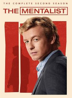 The Mentalist The Complete Second Season DVD, 2010, 5 Disc Set