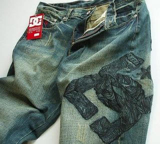 brand new dc shoes straight fit denim men s jean size w38