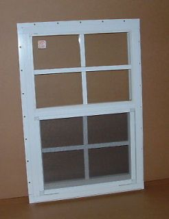 Shed Window Chicken Coop Playhouse 14x21 White J chan Lot of 4 Safety