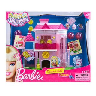 Squinkies Dispenser Barbie Dream House NEW RELEASE IN HAND