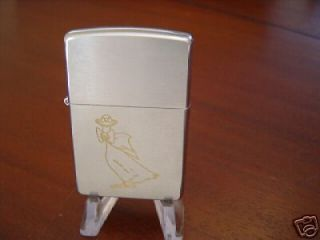 cartoon line drawn goose zippo lighter 1999 mint time left
