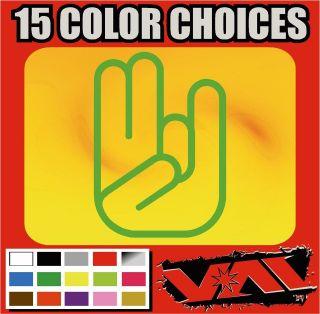 SHOCKER vinyl sticker decal Sneaky Pinky Stinky JDM car wall toolbox