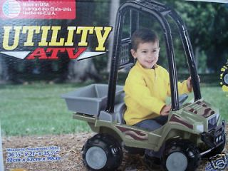 kids utility atv ride on camouf lage style roll bars