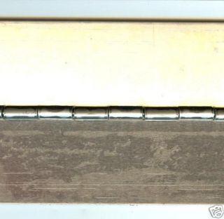rv teardrop tear drop trailer aluminum piano hinge new time