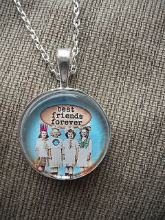 STUNNING HANDMADE BEST FRIENDS FOREVER NECKLACE