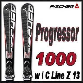 11 12 Fischer Progressor 1000 Skis 170cm w/C Line Z 13 NEW