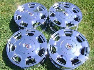 16 factory cadillac deville sevill e chrome wheels rims