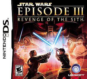 Star Wars Episode III Revenge of the Sith Nintendo DS, 2005